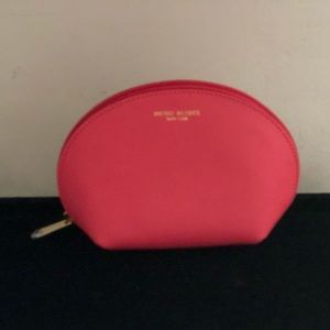 Henri Bendel pink Cosmetic Bag NWOT